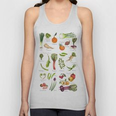 Calendar-January thru June Unisex Tank Top