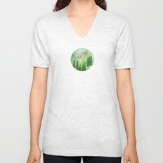 Birds and Leaves Unisex V-Neck
