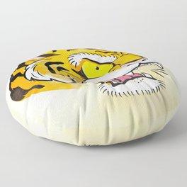 Tiger Tattoo Flash Floor Pillow