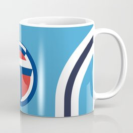 Coventry City Classic Double Striped Kit - 75 - 81 T-Shirt Coffee Mug