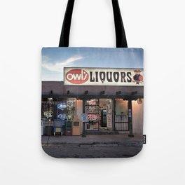 Liquor Store Santa Fe Tote Bag