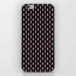 Curved diamonds iPhone Skin