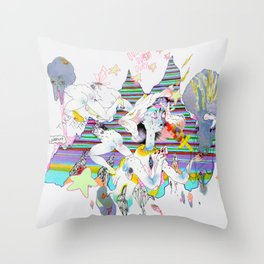 OURS OURS OURS Throw Pillow