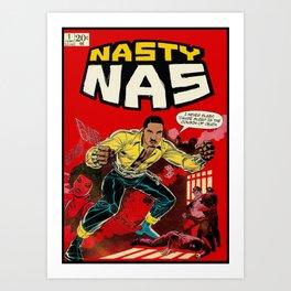 Dangerous NAS Art Print