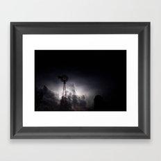 Midnight Thunder Framed Art Print