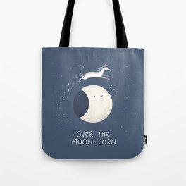 Over the Moon-icorn Tote Bag