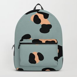 trend leopard pattern Backpack