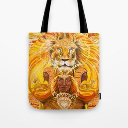 Lions Heart Tote Bag