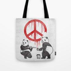 Pandalism V2 Tote Bag