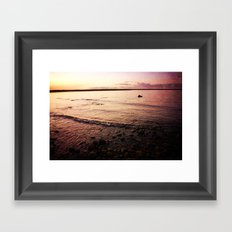 Red Skies Framed Art Print