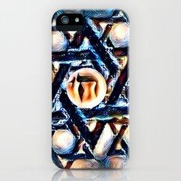 Chai Mandala - Blue iPhone Case