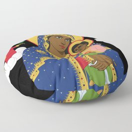 MARY AND CHRIST Floor Pillow