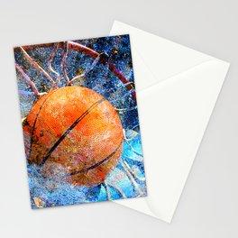 Basketball art vs vx 6 Stationery Cards
