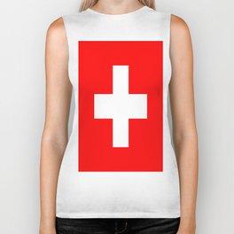 Flag of Switzerland Biker Tank