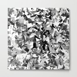 Gray urban camouflage Metal Print