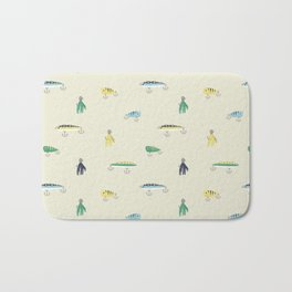 Bait & Sail - Lures Bath Mat