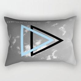 Written  Rectangular Pillow