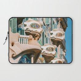 Casa Batllo, Antoni Gaudi Barcelona, City Of Barcelona Architecture, House Batllo, Downtown Barcelona City, Spain Travel Laptop Sleeve