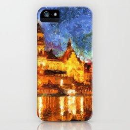 Cathedral of the Holy Trinity or Hofkirche iPhone Case