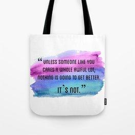 Unless Someone Lorax Tote Bag