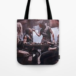 Devil's Night At The Bar - The Crow Tote Bag