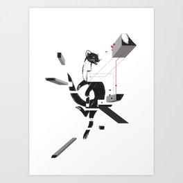 marten_deconstructed Art Print