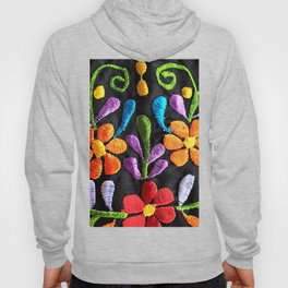 Mexican Flowers Hoody