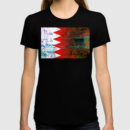 circuit board bahrain (flag) T-shirt