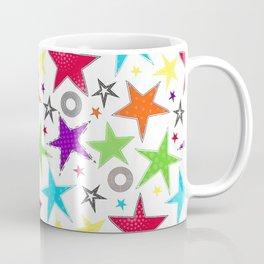 Trendy colourful star Coffee Mug