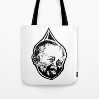 toddler Tote Bags featuring The Water Baby  by Waterbaby
