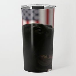 All-American Black Labrador Travel Mug
