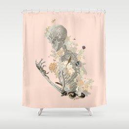 Stranger Danger I [sans type] Shower Curtain