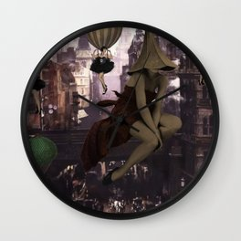 Love is in the air II - Flappers invasion Wall Clock