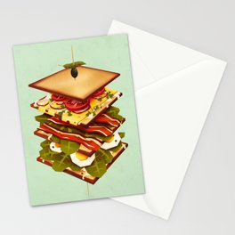 Sandwich Stationery Cards
