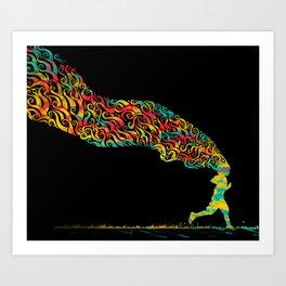 Pursuit Art Print