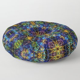 Cosmic Garden Floor Pillow