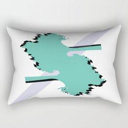 The Double Tree Inn Rectangular Pillow