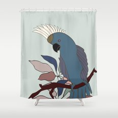 Parrot | Cockatoo Shower Curtain
