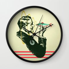Hypnotic sardine  Wall Clock