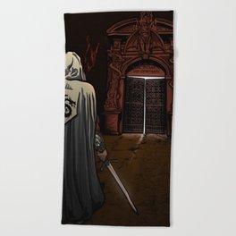 Slayer of Devils Beach Towel