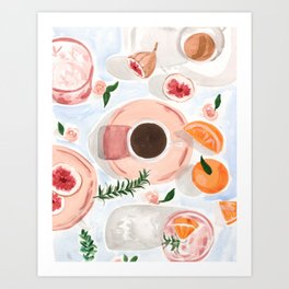 Still Life with Coffee Art Print
