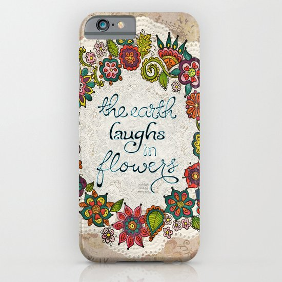 Natural Laughter iPhone & iPod Case