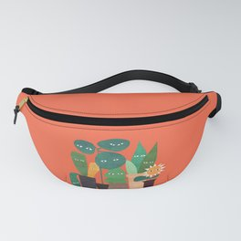 The plants are watching (paranoidos maximucho) Fanny Pack
