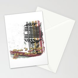 DON´T STOP THE MUSIC Stationery Cards