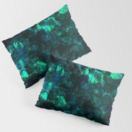 Fever Pitch - Aqua Variant Pillow Sham