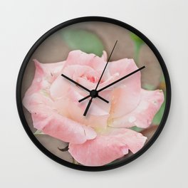 Light Pink Beauty Wall Clock