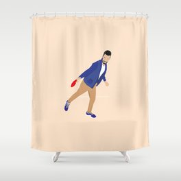 The Drive By Shower Curtain
