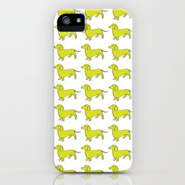 Doxie Love - Lime iPhone Case