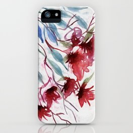 Weeping Red iPhone Case