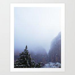 Lost Dream mountain Art Print